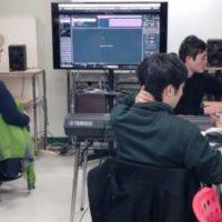 DTM 音楽 プロコース 授業風景